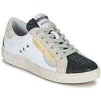 鞋子 女士 球鞋基本款 Meline NKC139 白色 / 金色 / 黑色