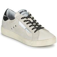 鞋子 女士 球鞋基本款 Meline CAR139 米色 / 黑色