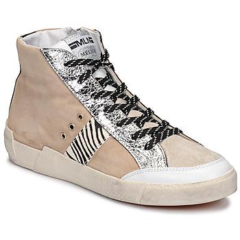 鞋子 女士 球鞋基本款 Meline  米色 / 斑马纹