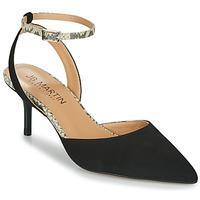 鞋子 女孩 凉鞋 JB Martin TWISTO 黑色 / 白色