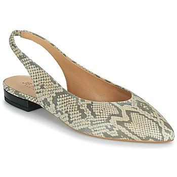 鞋子 女孩 平底鞋 JB Martin VELANI 白色 / 黑色