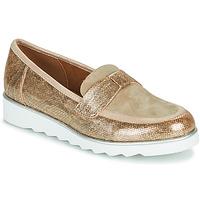 鞋子 女士 皮便鞋 Sweet BETOUN 金色