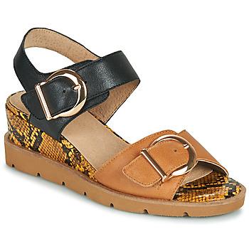 鞋子 女士 凉鞋 Sweet ETOXYS 黑色 / 驼色
