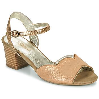 鞋子 女士 凉鞋 Sweet GOLFE 金色