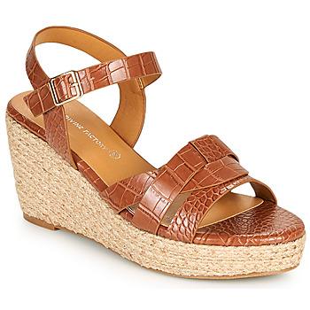 鞋子 女士 凉鞋 The Divine Factory QL4351 驼色