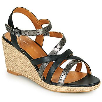 鞋子 女士 凉鞋 The Divine Factory QL4354 黑色