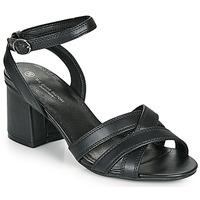 鞋子 女士 凉鞋 The Divine Factory LS2115 黑色