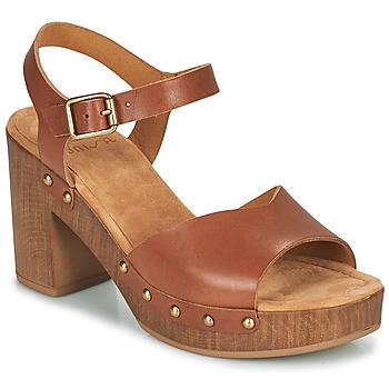鞋子 女士 凉鞋 Unisa TACO 驼色