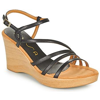 鞋子 女士 凉鞋 Unisa RABAL 黑色