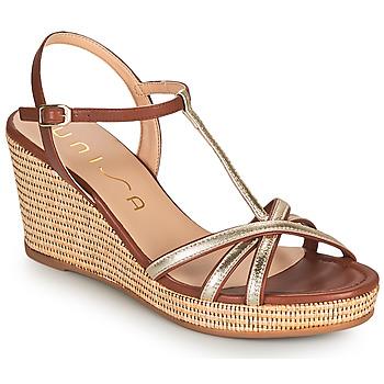 鞋子 女士 凉鞋 Unisa LLINAR 金色