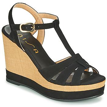 鞋子 女士 凉鞋 Unisa MANACOR 黑色