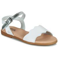 鞋子 女孩 凉鞋 Citrouille et Compagnie OBILO 白色