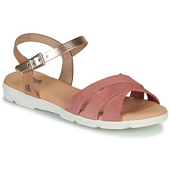 鞋子 女孩 凉鞋 Citrouille et Compagnie OBILOU 玫瑰色