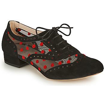 鞋子 女士 系带短筒靴 Fericelli ABIAJE 黑色 / 红色