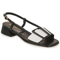 鞋子 女士 凉鞋 Fericelli PANILA 黑色 / 白色