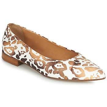 鞋子 女士 平底鞋 Fericelli SELENA 白色 / 金色