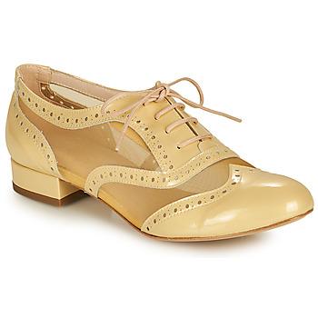 鞋子 女士 系带短筒靴 Fericelli ABIAJE 黄色