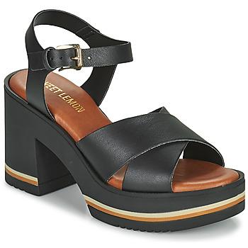 鞋子 女士 凉鞋 Sweet Lemon LUPOLE 黑色