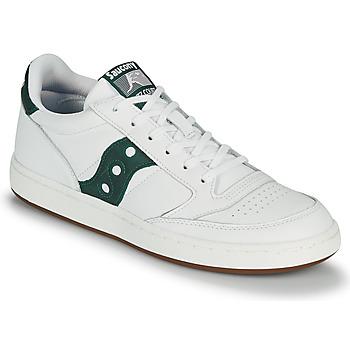 鞋子 男士 球鞋基本款 Saucony JAZZ COURT 白色 / 绿色