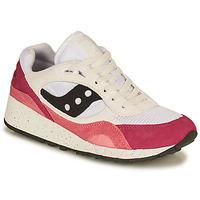 鞋子 女士 球鞋基本款 Saucony SHADOW 6000 白色 / 玫瑰色