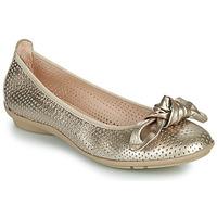 鞋子 女士 平底鞋 Hispanitas CAPRI 金色