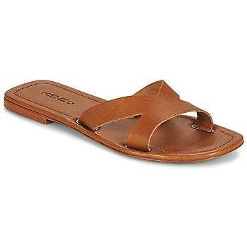 鞋子 女士 休闲凉拖/沙滩鞋 Kenzo OPANKA 棕色