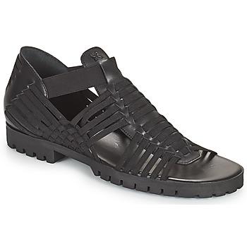 鞋子 女士 凉鞋 Kenzo GREEK FLAT SANDALS 黑色