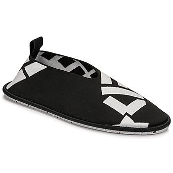 鞋子 女士 平底鞋 Kenzo K-KNIT SLIP-ON RECYCLED KNIT 黑色