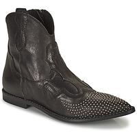 鞋子 女士 短筒靴 MIMMU MONTONE NERO 黑色