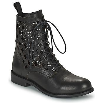 鞋子 女士 短筒靴 MIMMU MONTONE NEROA 黑色