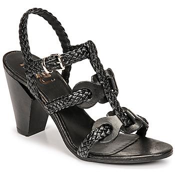 鞋子 女士 凉鞋 MIMMU TRECCIA-P-NERO 黑色
