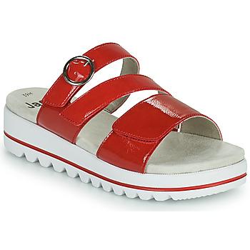 鞋子 女士 休闲凉拖/沙滩鞋 Jana JANITA 红色