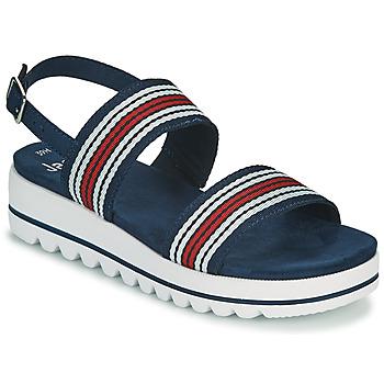 鞋子 女士 凉鞋 Jana STROMAELA 海蓝色 / 红色 / 白色