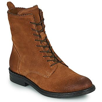 鞋子 女士 短筒靴 Mjus PAL LACE 驼色