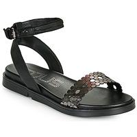 鞋子 女士 凉鞋 Mjus KETTA 黑色 / 银灰色