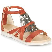 鞋子 女士 凉鞋 Mjus KETTA 砖红色 / 银灰色