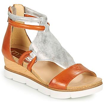 鞋子 女士 凉鞋 Mjus TAPASITA 砖红色 / 银灰色