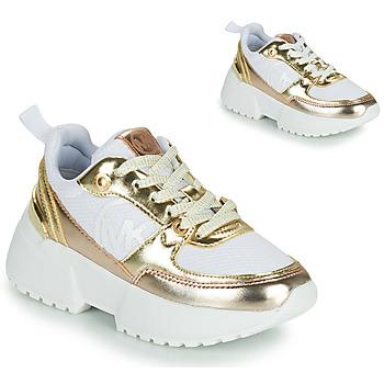 鞋子 女孩 球鞋基本款 Michael by Michael Kors COSMO SPORT 白色 / 金色