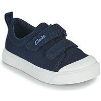 鞋子 儿童 球鞋基本款 Clarks 其乐 CITY BRIGHT T 海蓝色