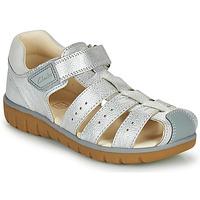 鞋子 女孩 凉鞋 Clarks 其乐 ROAM BAY K 银色
