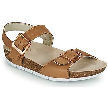 鞋子 儿童 凉鞋 Clarks 其乐 RIVER SAND K 驼色