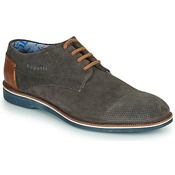 鞋子 男士 德比 Bugatti MELCHIORE 灰色 / Fonce