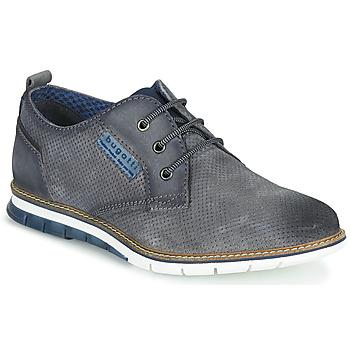 鞋子 男士 球鞋基本款 Bugatti SANDMAN 灰色 / Fonce