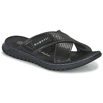 鞋子 男士 拖鞋 Bugatti IDAHO 黑色