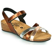 鞋子 女士 凉鞋 Plakton NOTE 铜色 / 玫瑰色 / 银灰色