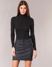 衣服 女士 羊毛衫 Morgan MENTOS 黑色