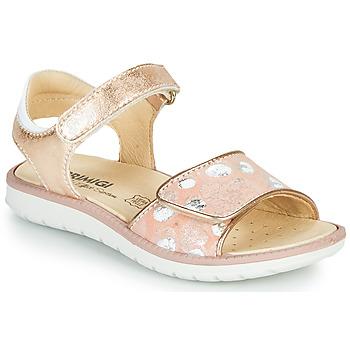 鞋子 女孩 凉鞋 Primigi MINA 玫瑰色