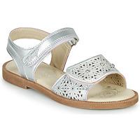 鞋子 女孩 凉鞋 Primigi MICHELLE 银灰色