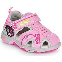 鞋子 女孩 运动凉鞋 Primigi SOLAL 玫瑰色