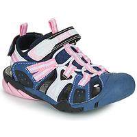 鞋子 女孩 运动凉鞋 Primigi CAMMI 海蓝色 / 玫瑰色